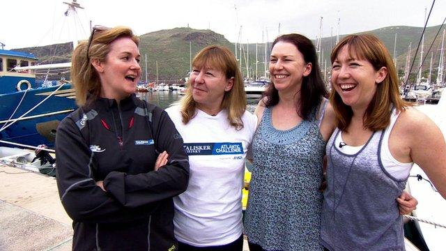 Yorkshire Rows team