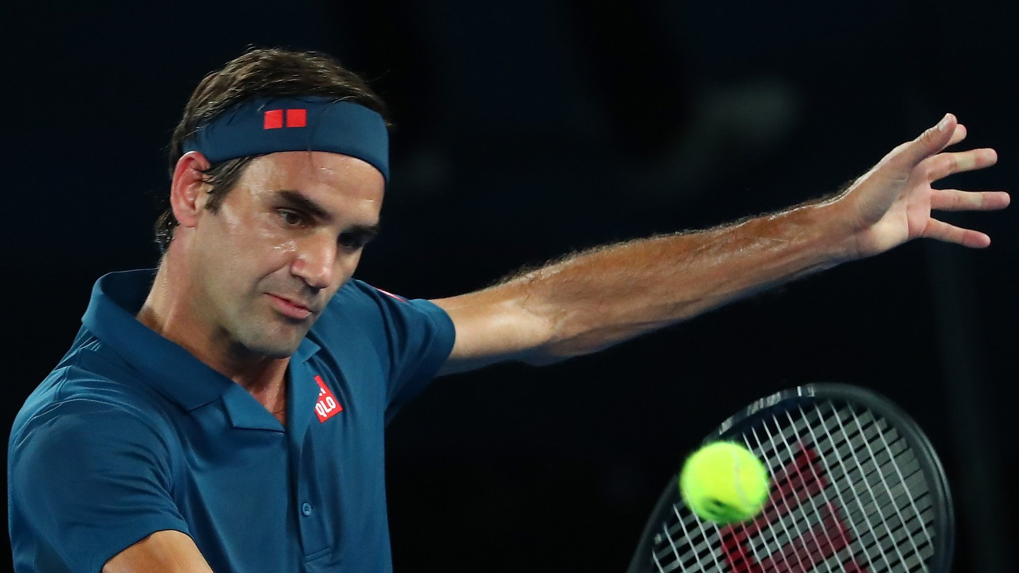Federer and Nadal win but ninth seed Isner loses