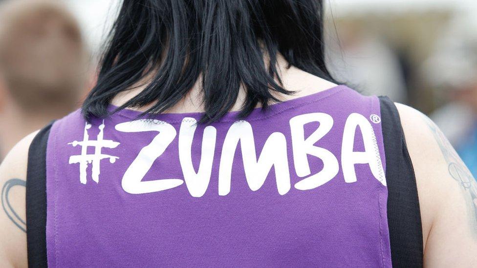 """Zumba es exitoso por su """"modelo de negocios"""" divertido y consciente de la salud."""