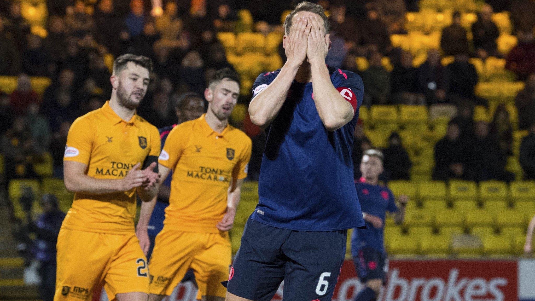 Livingston 5-0 Hearts: Livi down Hearts after crazy 14-minute blitz