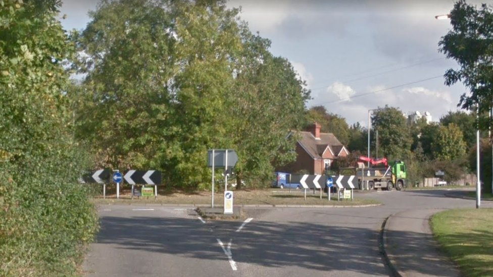 Investigation into man's death at Borough Green roundabout