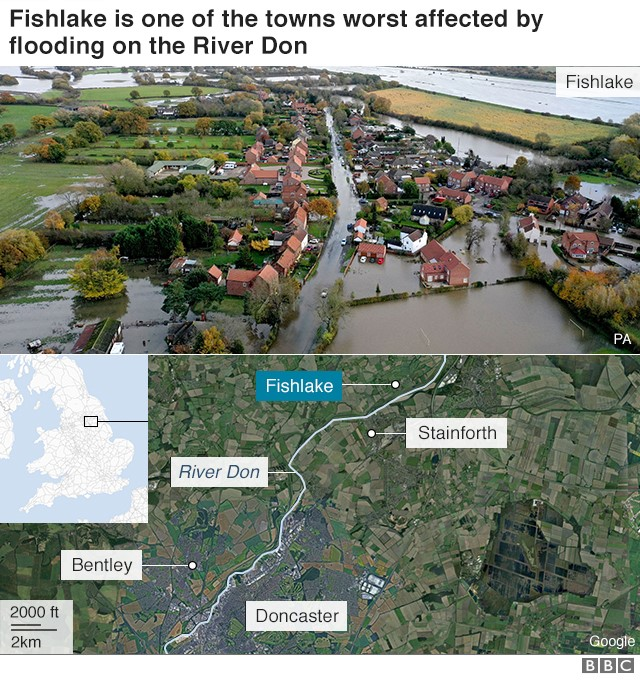 Image of Fishlake underwater with locator map