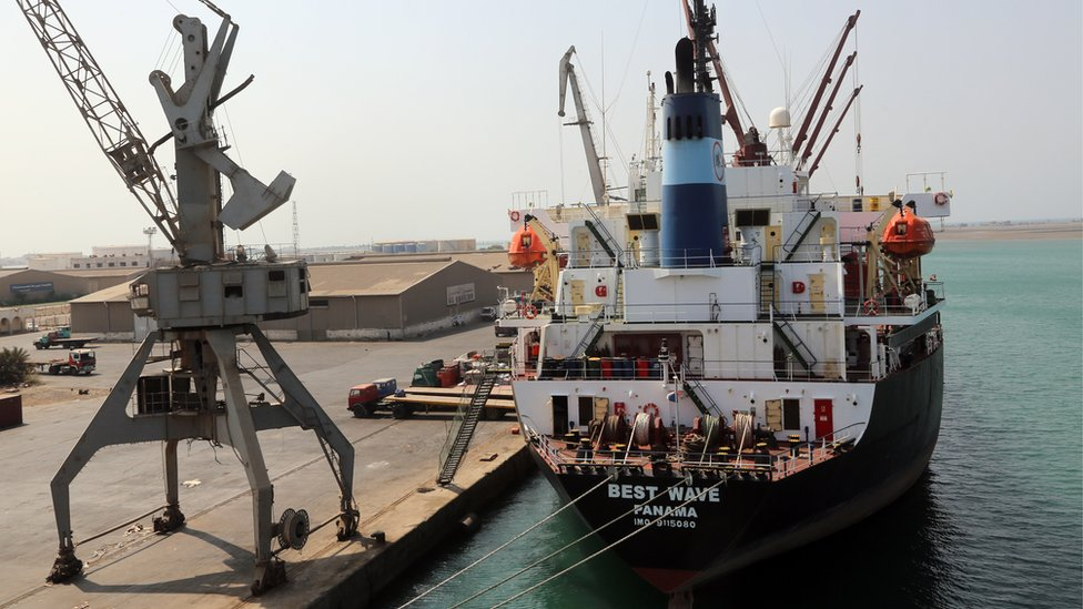 Yemen's rebel-controlled Red Sea port of Hudaydah