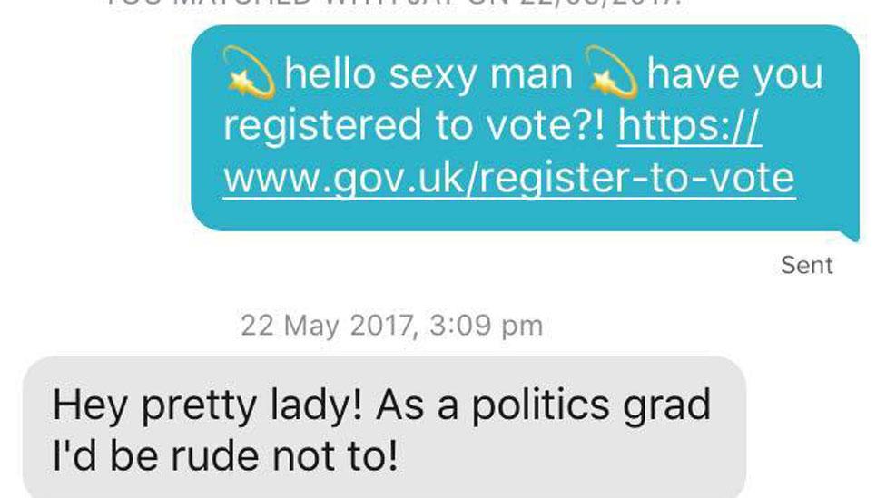 Tinder messages