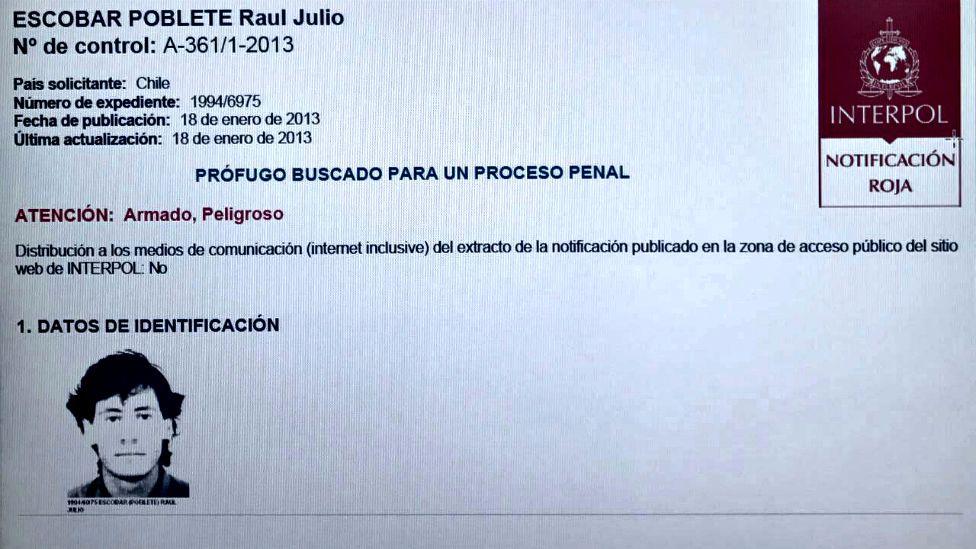 Interpol lo buscaba en 190 países, fue detenido en México. Su pareja fue capturada en España. (Foto: Interpol)