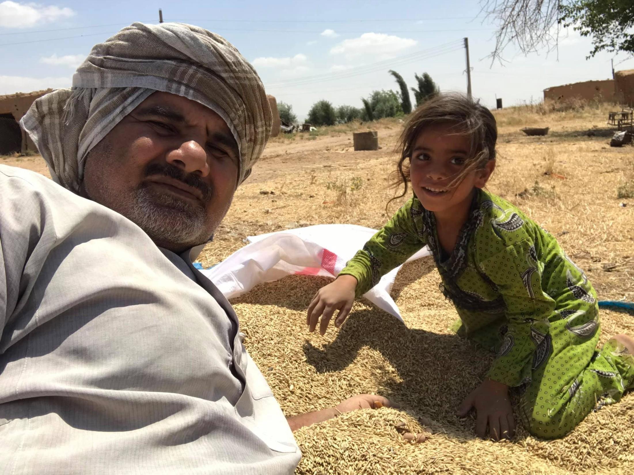 Abud Hamam i devojčica