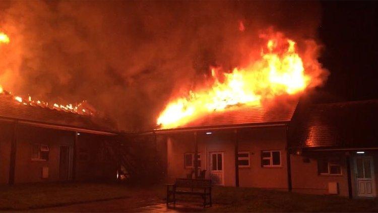 Truro fire: 'Suspicious' blaze destroys social homes