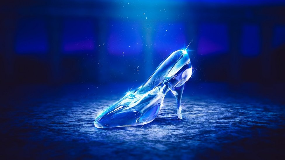 Cinderella glass slipper