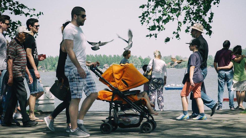atmosfera u Beogradu tokom epidemije korona virusa