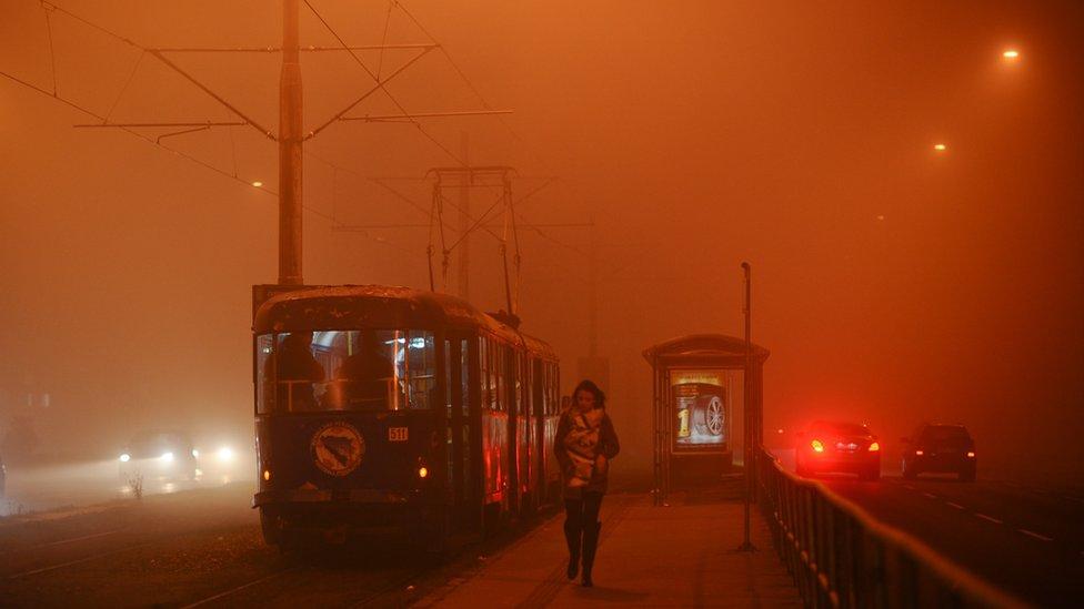 Sarajevo, zagađenje, decembar 2018.