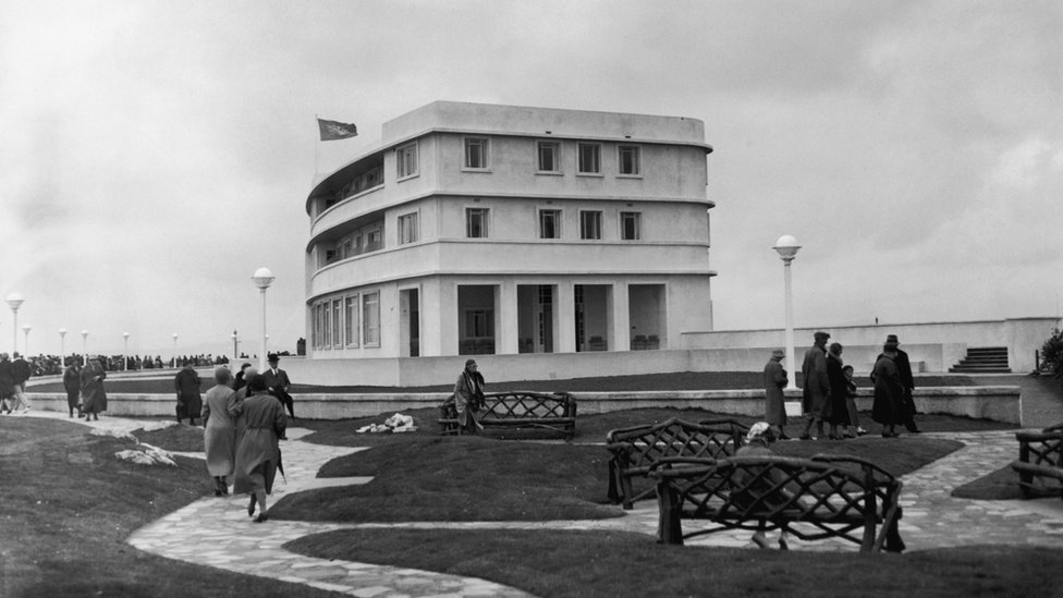Midland Hotel in 1933