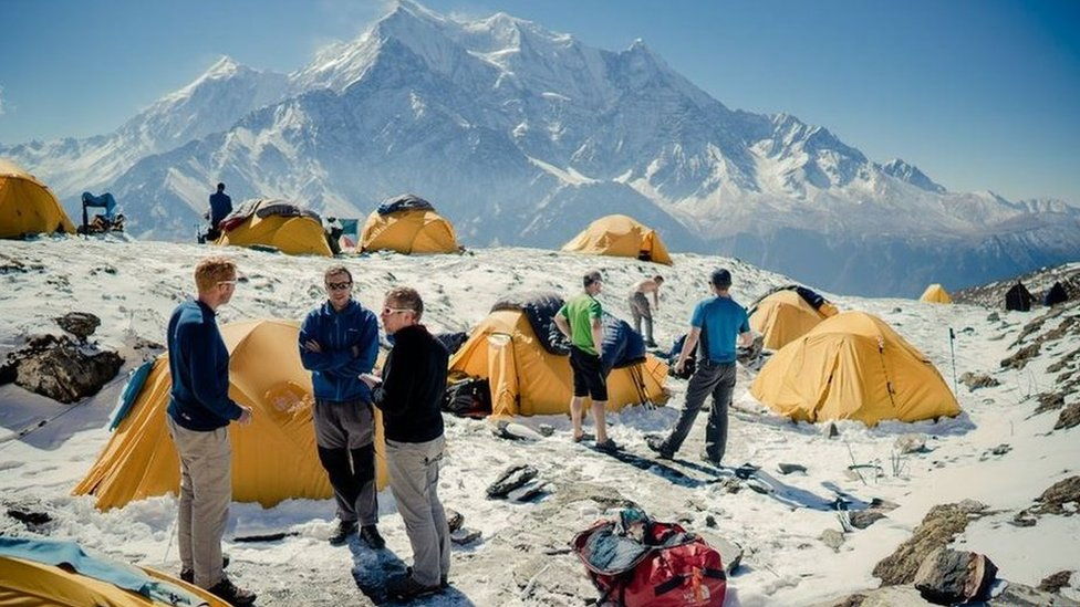Expedition trip to Dhaulagiri