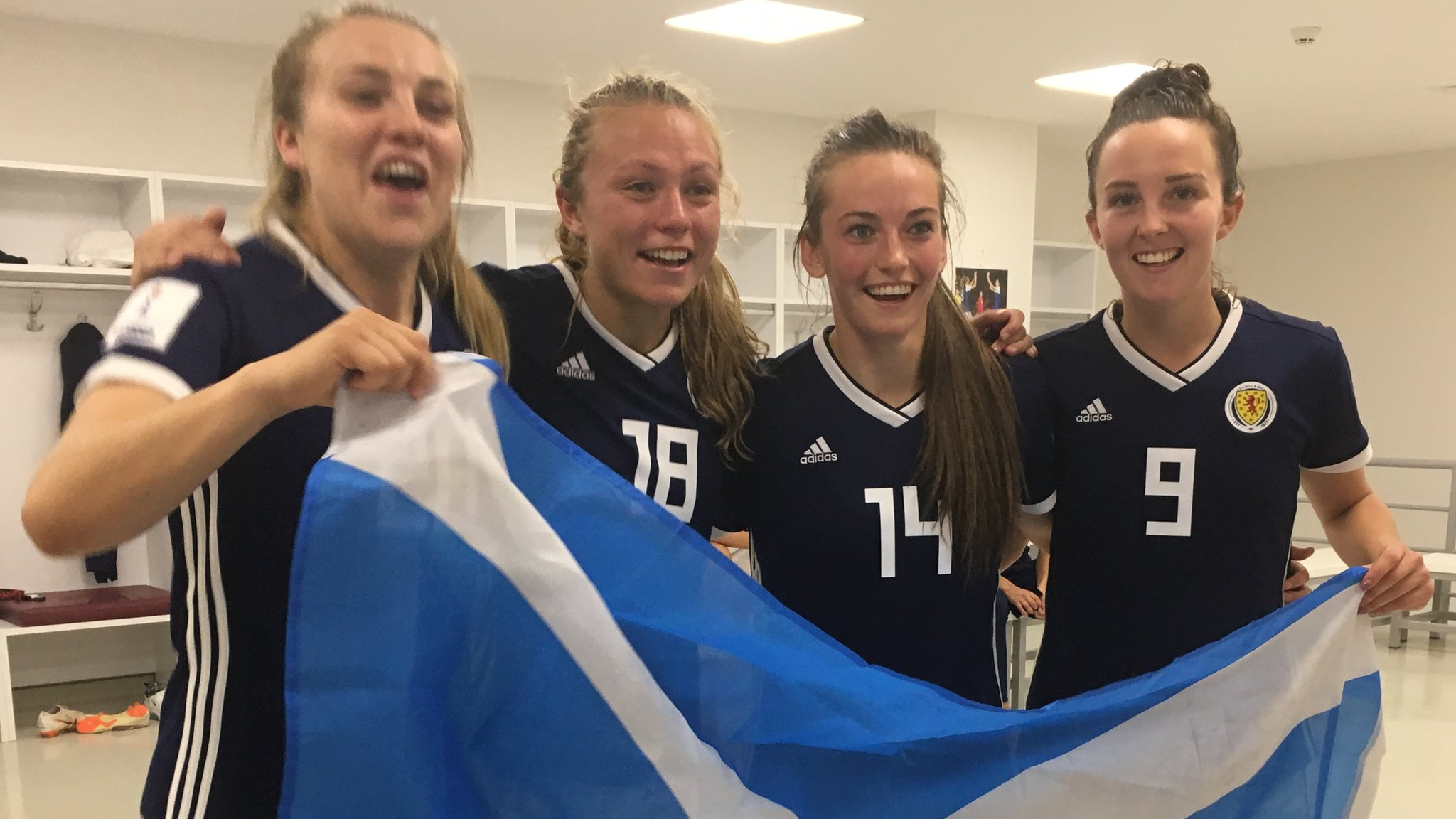 Scotland Women: All players to be full-time up to World Cup with Government funding