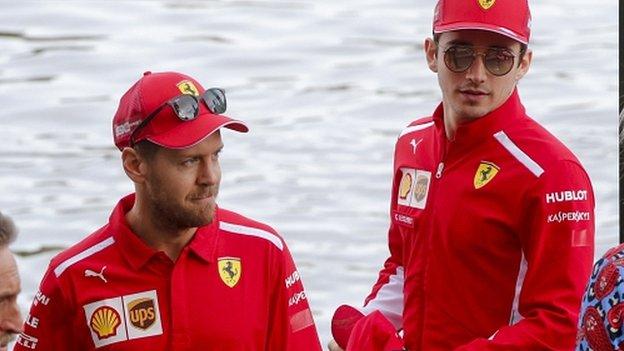 Sebastian Vettel: Charles Leclerc will put me under pressure all season