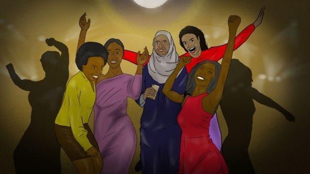 Perempuan semua kalangan diterima di pesta dansa.