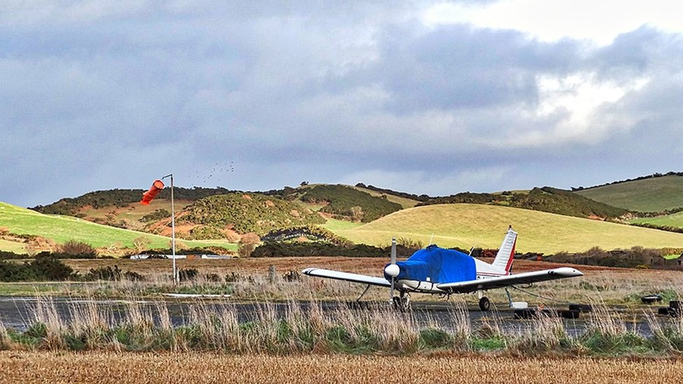 Andreas Airfield