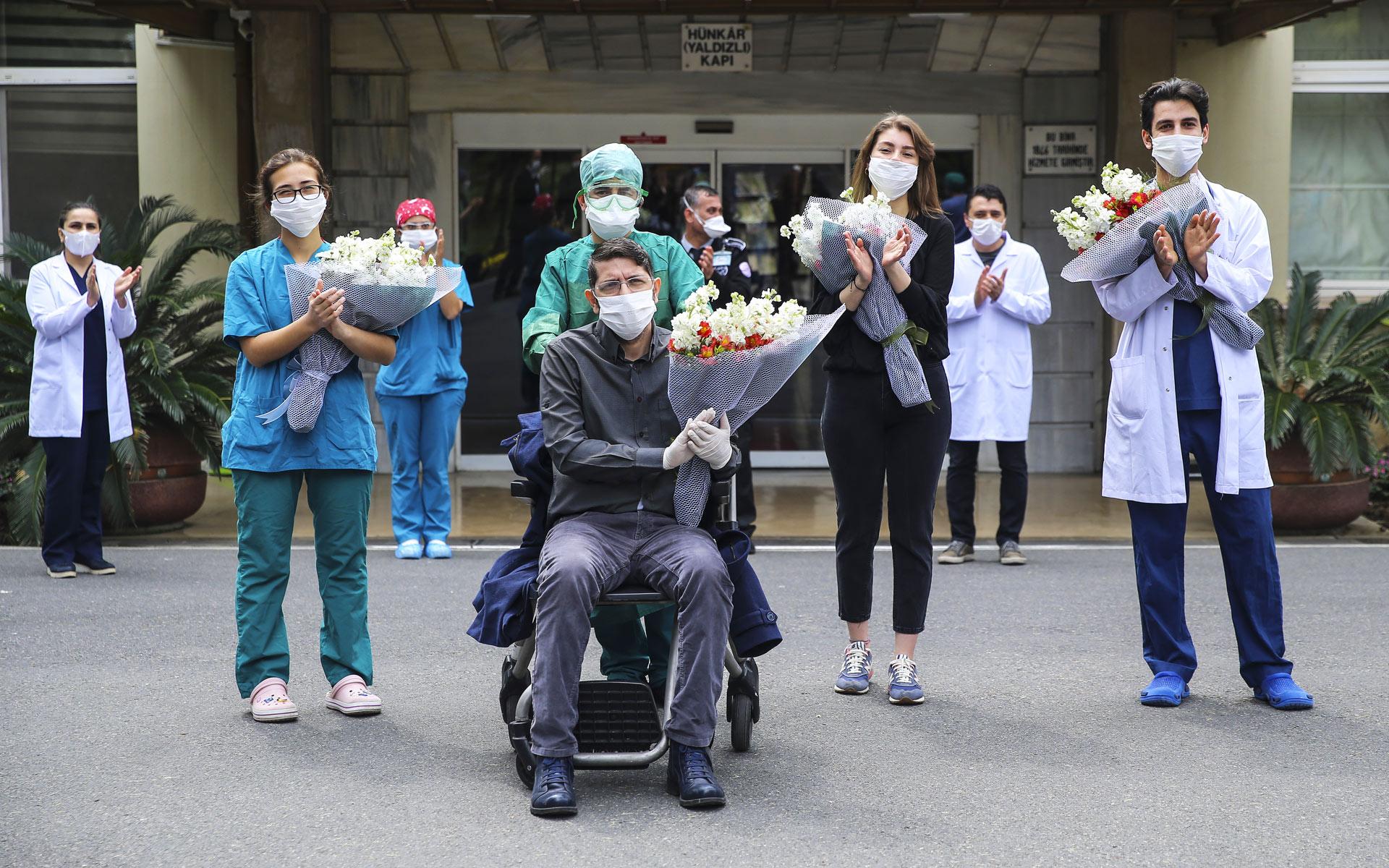 Turska, izlazak iz bolnice