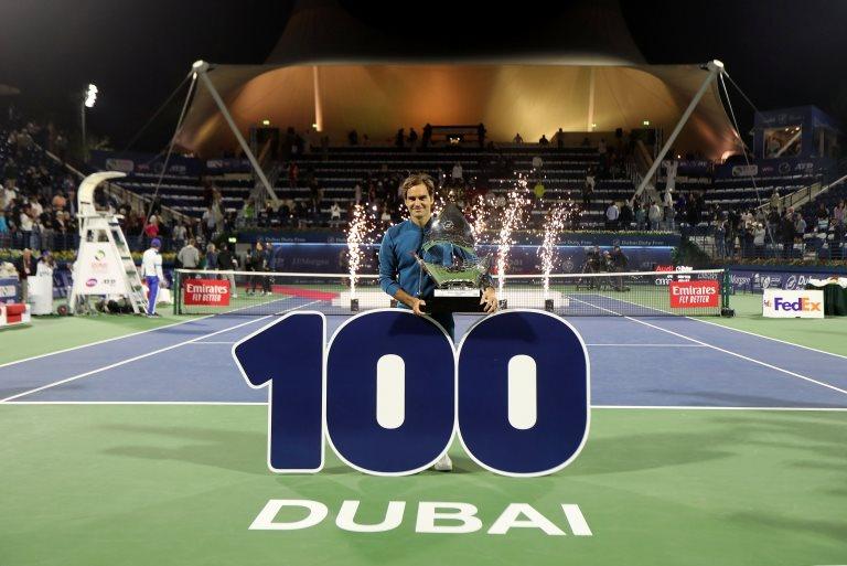 Federer en Dubái
