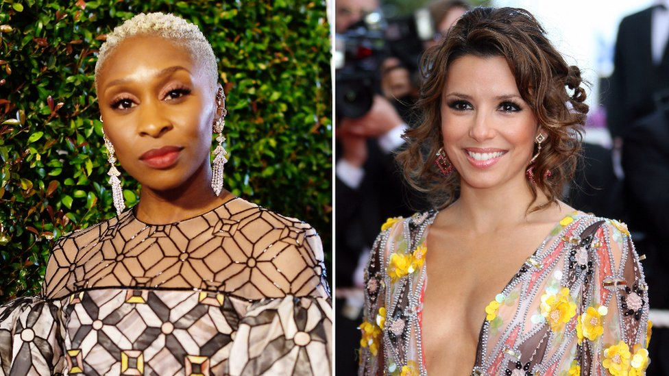 Cynthia Erivo and Eva Longoria