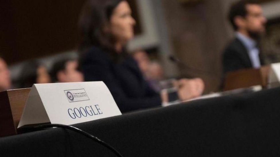 مسؤولو غوغل لم يحضروا