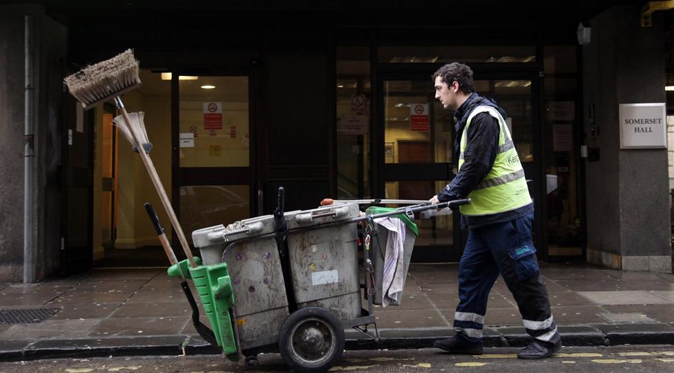 Street cleaner, UK