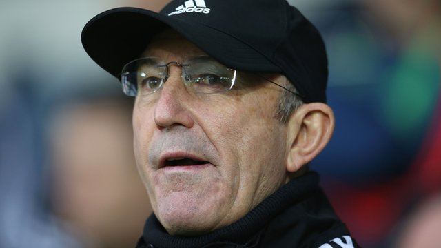 West Brom manager Tony Pulis