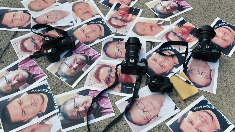Periodistas asesinados.