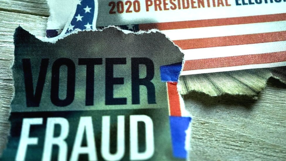 Us Election 2020 Rigged Votes Body Doubles And Other False Claims Bbc News