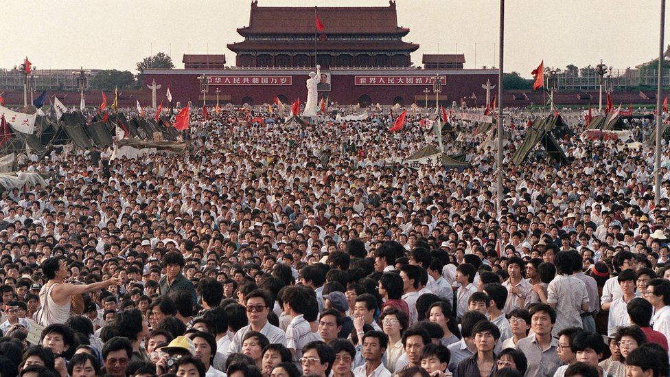 1989年6月2日的天安門廣場