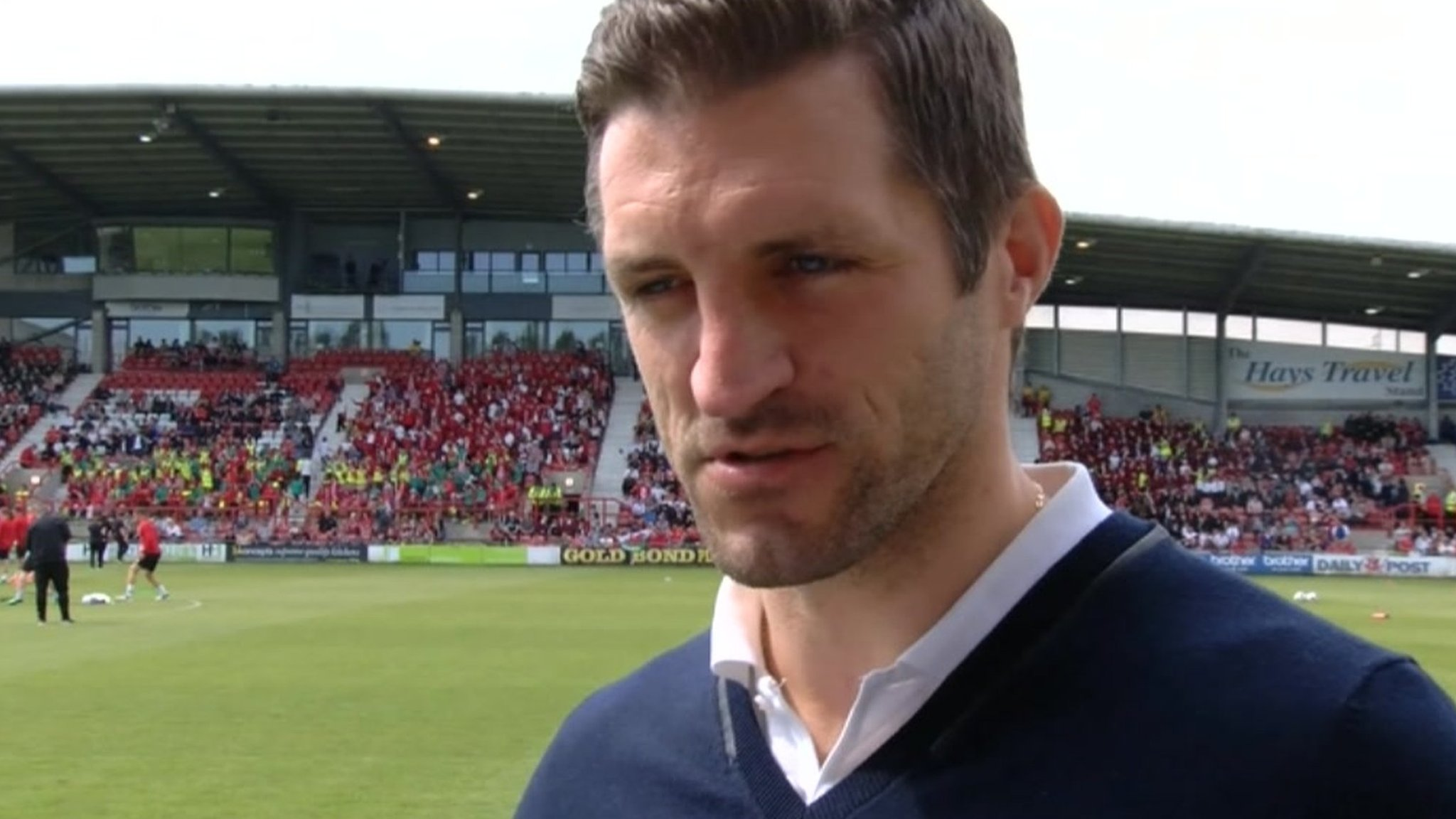Wales' Racecourse return 'brilliant' for Wrexham - Sam Ricketts