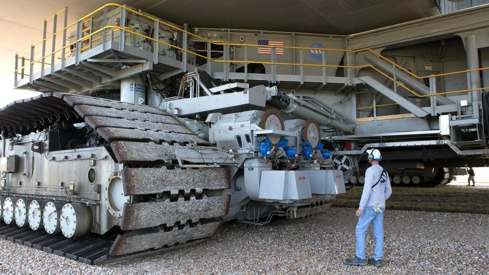 vehículo NASA