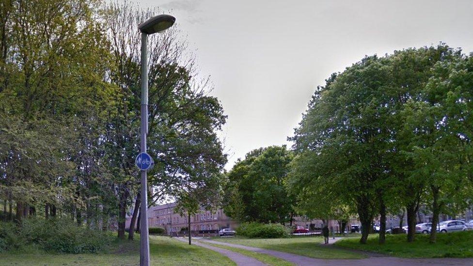 Dog walker 'attacked with CS spray' in Edinburgh