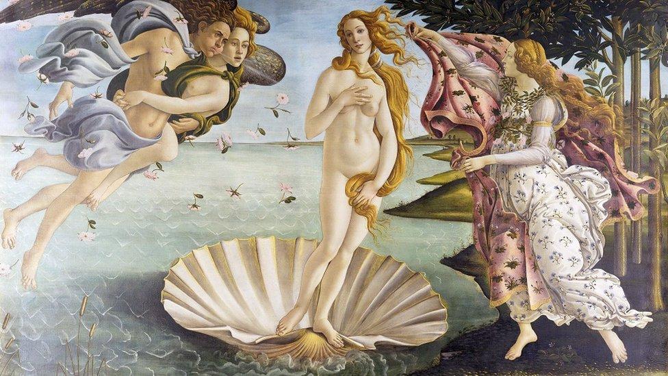 Rođenje Venere, Sandro Botičeli