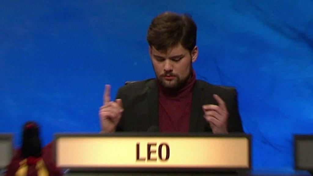 Freddy Leo's best University Challenge buzzes