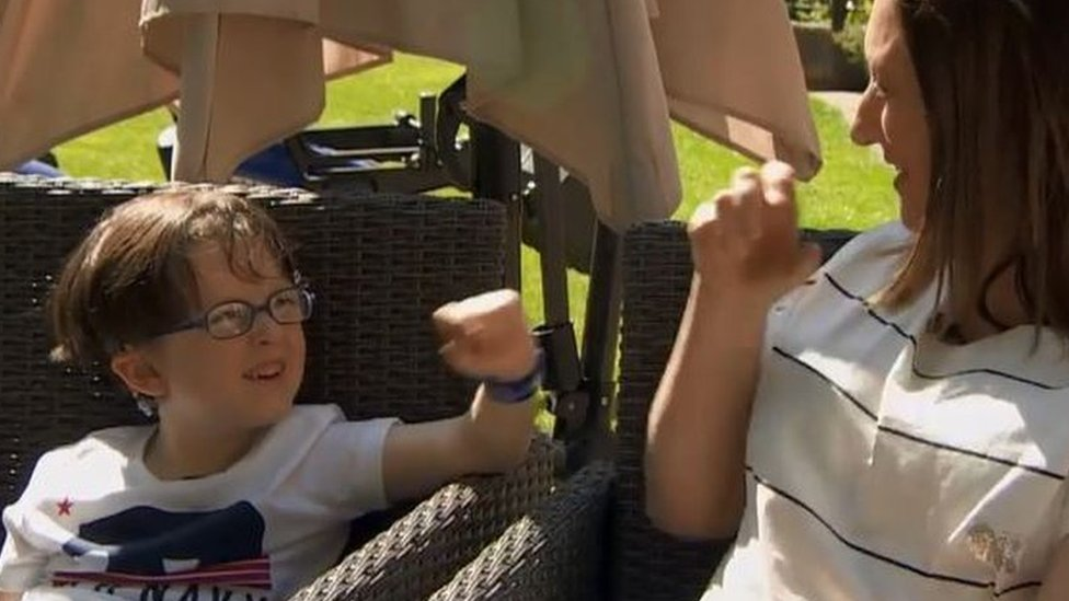 Deaf boy finds his voice after brain implant surgery
