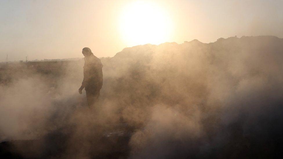 Israel utilizó drones para lanzar gases lacrimógenos contra los manifestantes.
