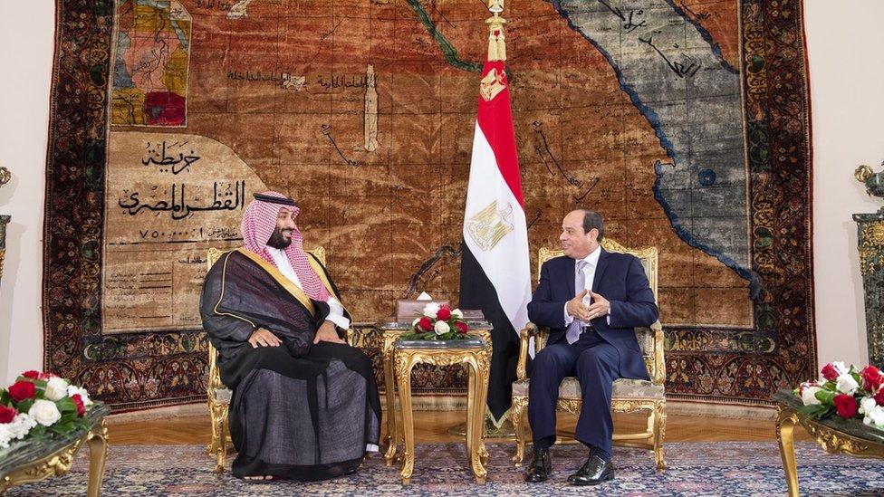 زيارة ولي العهد لمصر استغرقت أقل من 24 ساعة