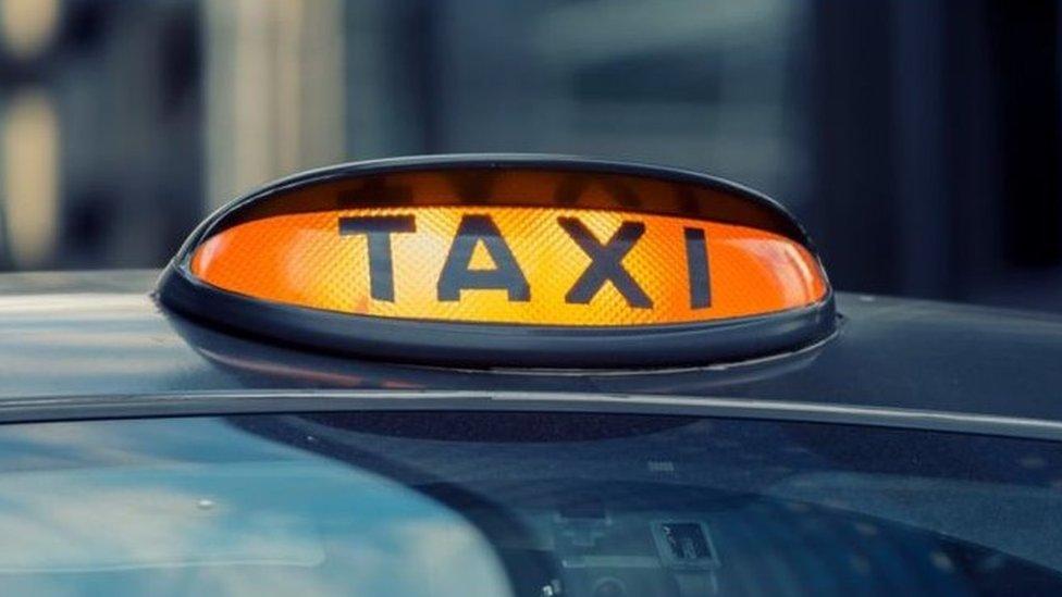 Black cab taxi involved in hit-and-run in Edinburgh
