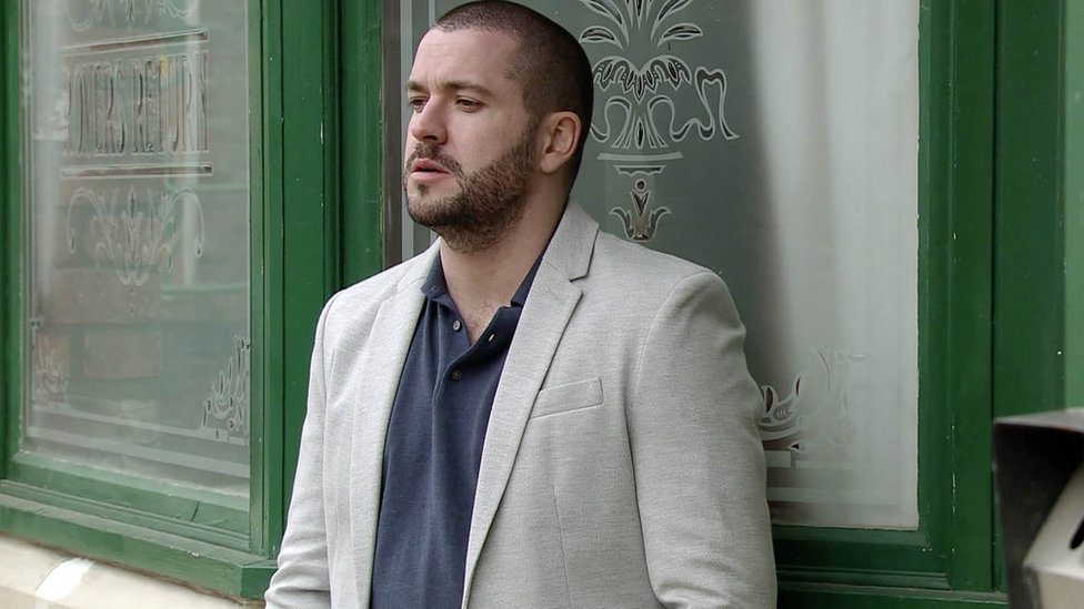 Shayne Ward playing Aidan Connor