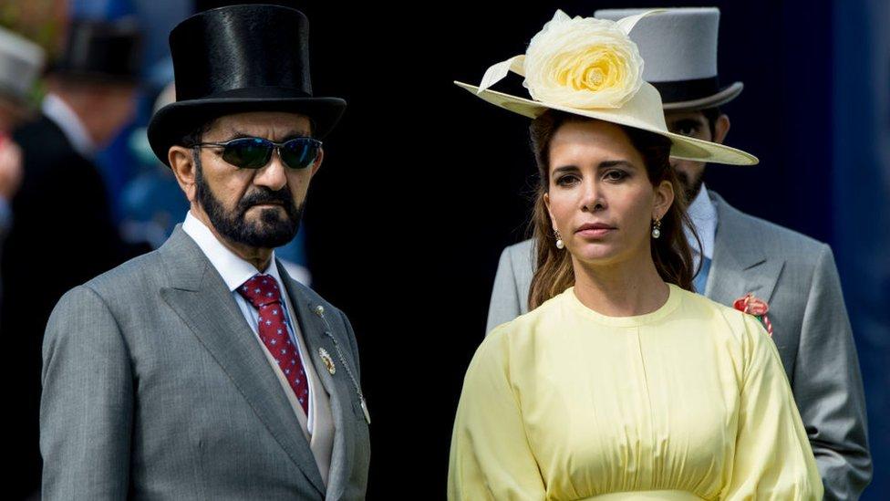 Dubai Emiri El Maktum ve Prenses Haya