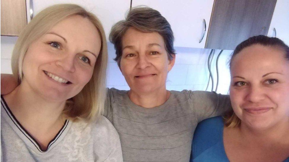 Marijana Kresojević, Mirjana Mutuc i Mina Gavrilov