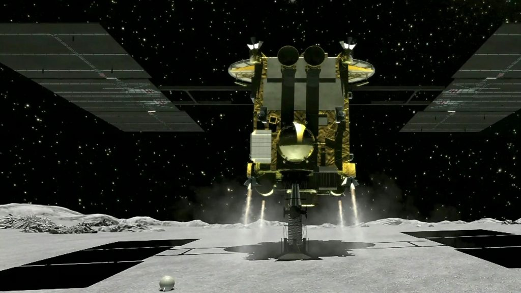 Asteroid pioneers: The team who put rovers on a space rock