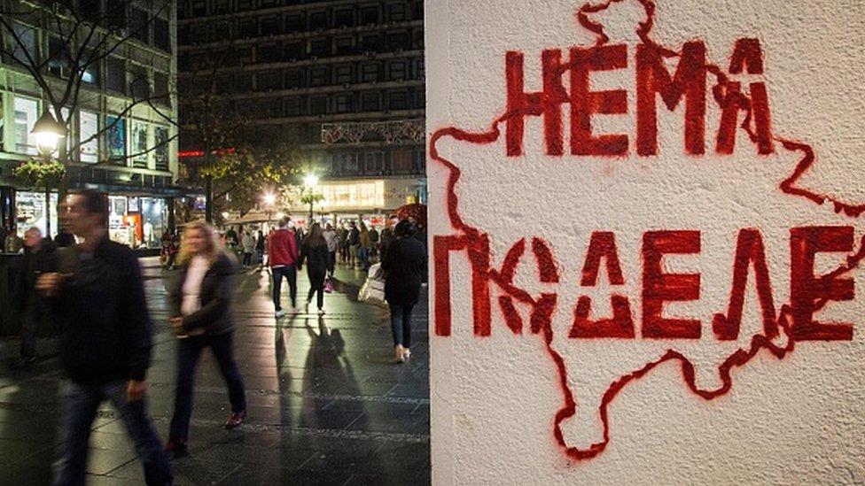 Beograd i grafit o Kosovu