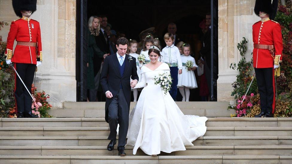 Королівське весілля: сукня принцеси Євгенії в деталях