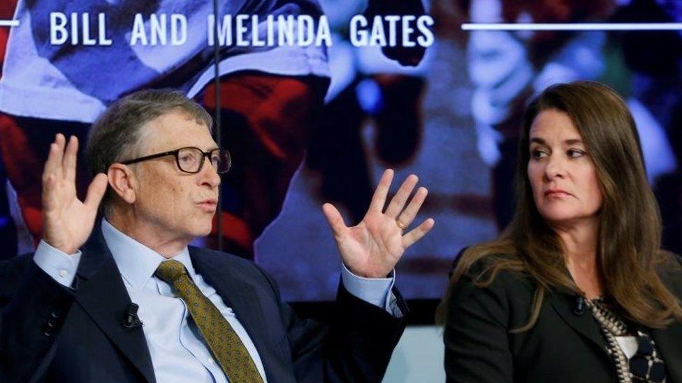 比爾‧蓋茨與56歲的梅琳達通過推特宣佈離婚