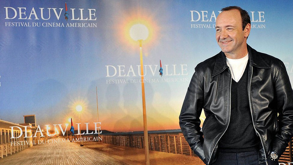 Kevin Spacey at the Deauville Film Festival