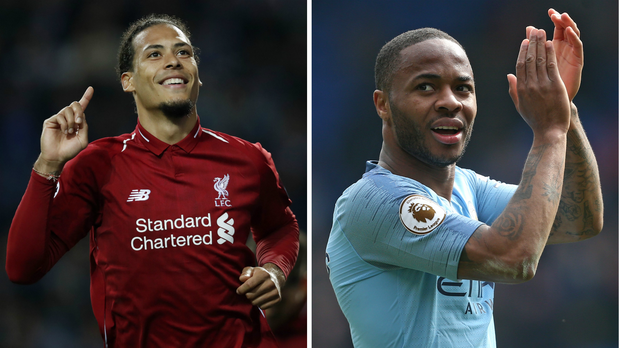 Van Dijk or Sterling? See who the pundits pick as player of the year & choose yours