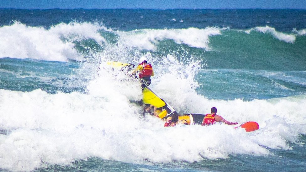 Rescue from rip current