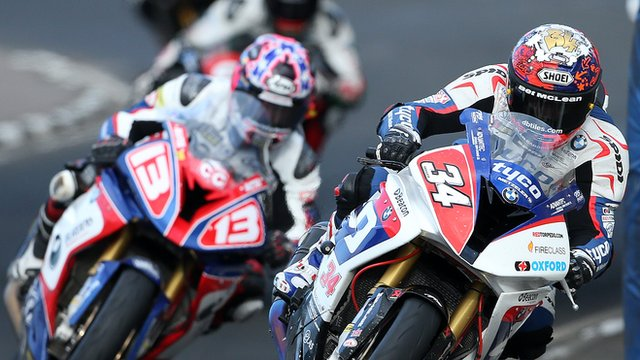 Action from the North West 200 International road races