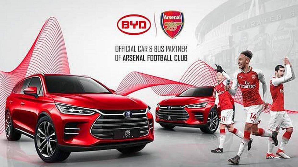 Arsenal graphic